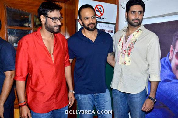 Ajay Devgn, Rohit Shetty, Abhishek Bachchan - (7) -  Asin, Prachi Desai Bol Bachchan Stills