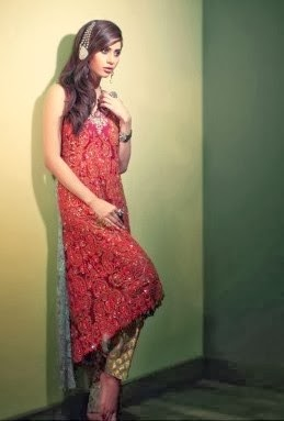 Embroidered Bridal Wear Salwar Kameez