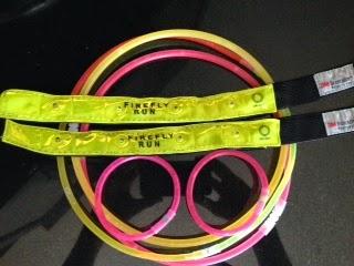Firefly run 5k glow sticks