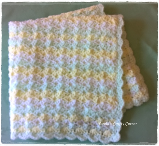 Knitting Patterns For Blankets For Premature Babies : .Lindas Crafty Corner: Little Treasure Baby Blanket Pattern.