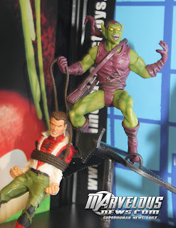 Marvel Select Classic Green Goblin w/Peter Parker figure
