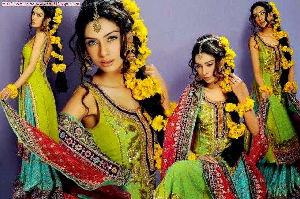 Latest Bridal Mehndi Event Hairstyles
