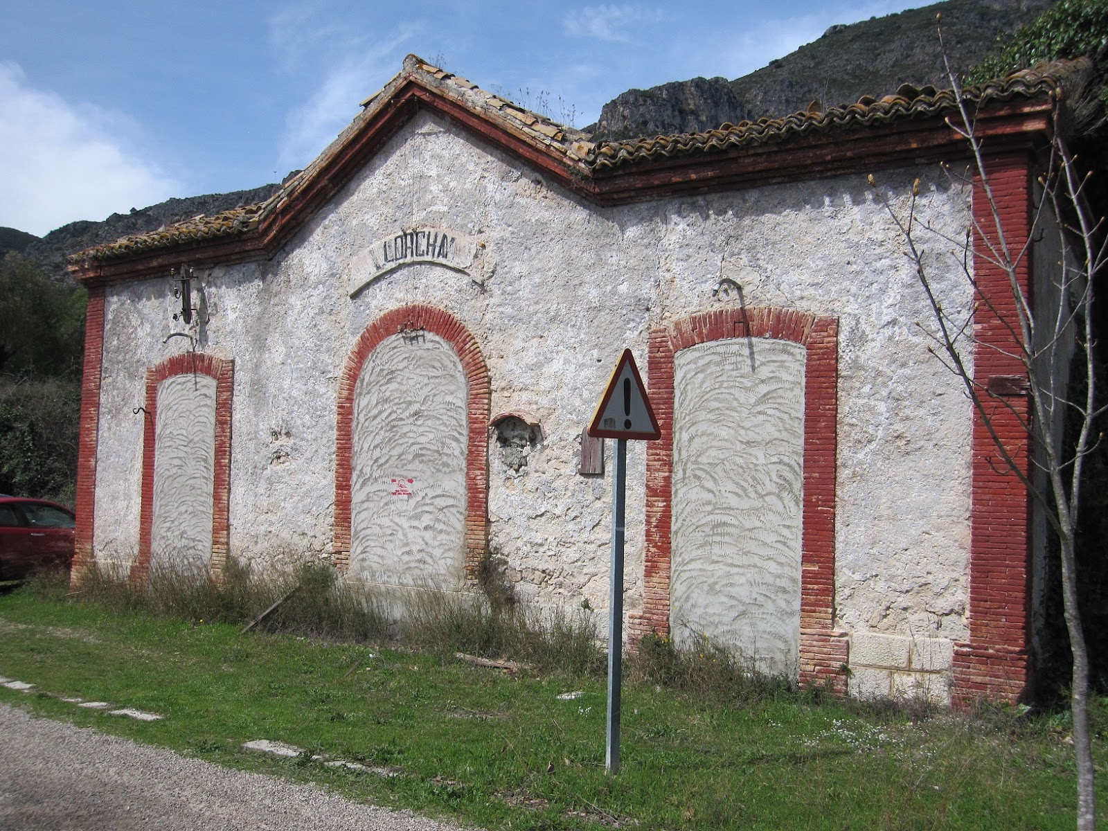Antiga estació de l'Orxa