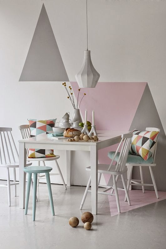 Fashionable Geometric Décor Ideas For Your Dining Space