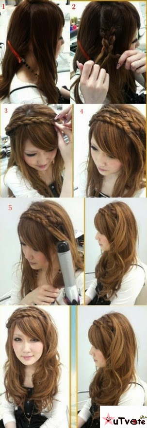 New Years Make Over Hairstyle Model : DIY Hair Styling Tips ~ Unique ...