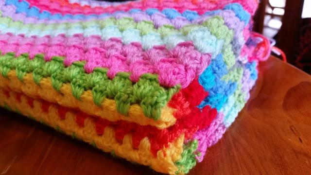 crochet granny afghan
