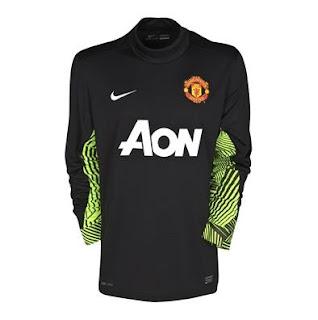 Man Utd kits 2012