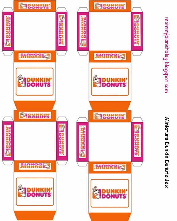 Mommy Planet plan it, save it, share it...: Miniature Dunkin Donuts ...