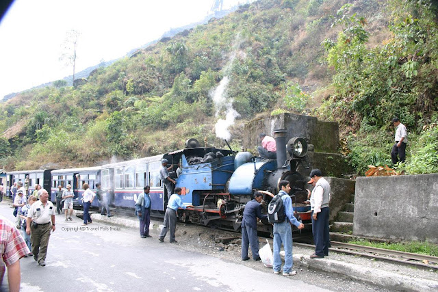 Tourist in Darjeeling