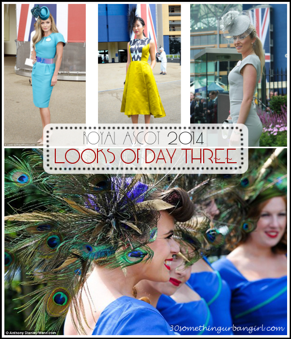 glamorous outfits on Ladies's Day of Royal Ascot 2014