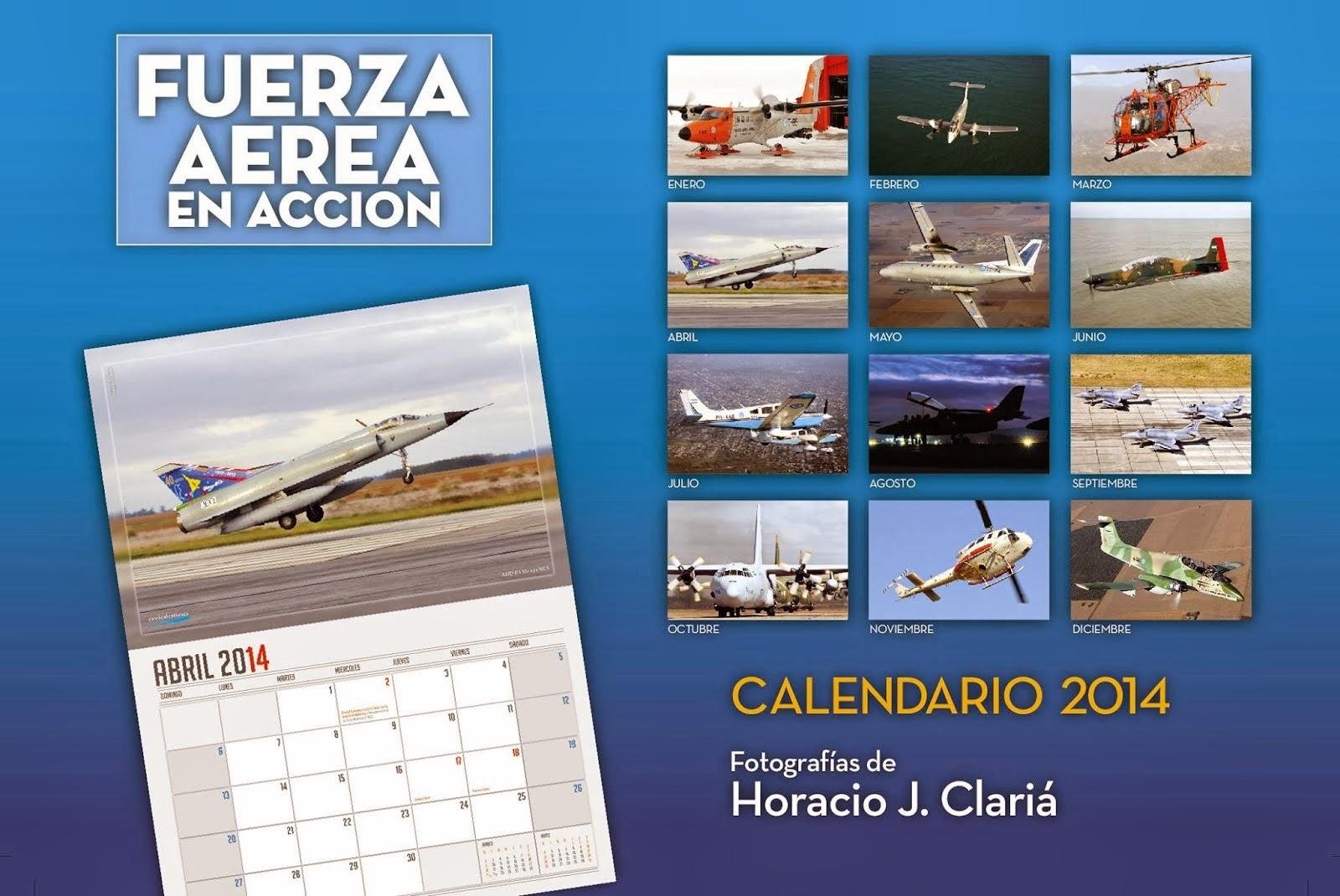 Calendario Aeronáutico 2014