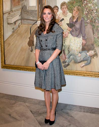 Jesiré Grey Dress Coat | Copy Kate: A Kate Middleton Style Blog