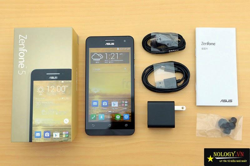Hướng dẫn test Asus Zenfone 5 khi mua