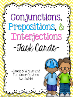 https://www.teacherspayteachers.com/Product/Conjunctions-Prepositions-Interjections-628541
