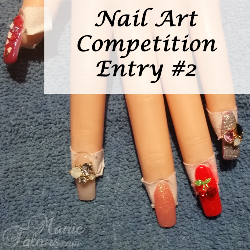 GCI Valentine's Day Nail Art Competition Entry 2