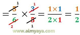 Gambar: contoh soal pembagian pecahan 6