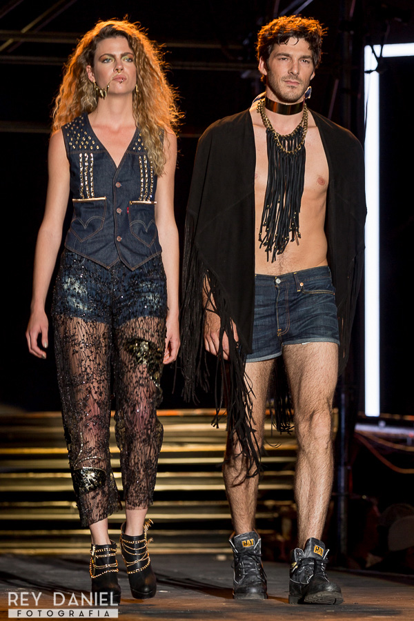 Laurencio Adot y Thiago Pinheiro - Levi's. Fashion Meets Rock 2015