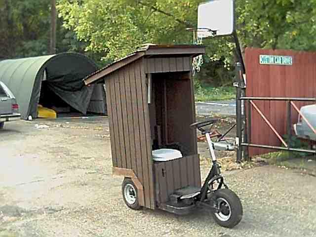 Portable Toilet Porta Potty Port O