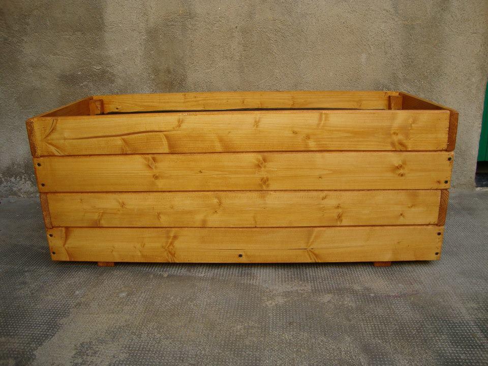 Jardinera de madera - Jardineras de madera caseras ...