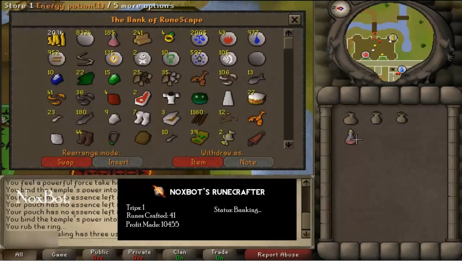 Runescape macros and bots new update april 25th paid script