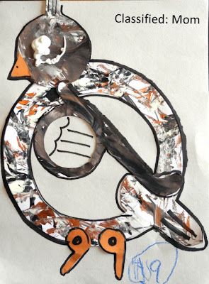 Q is for Quail Kids Craft