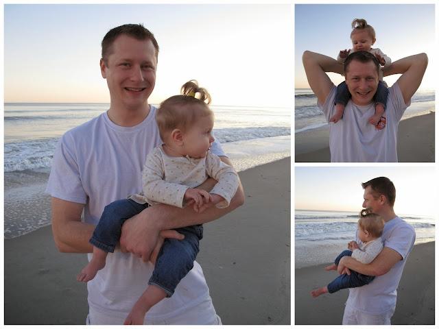 Daddy & Stella at Myrtle Beach
