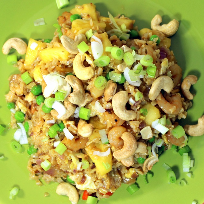 52 Ways to Cook: Spicy Shrimp Fried Rice with Pineapple