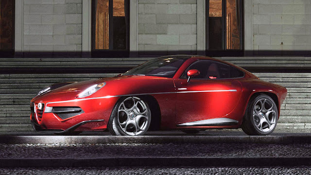 Alfa Romeo Disco Volante by Touring 2013