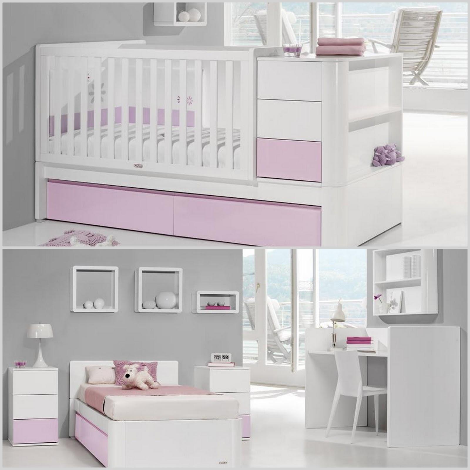 Fraldas rabiscos convertiveis e camas de grades for Mobiliario para bebes