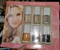 Drew Barrymore Nail'd It Collection nail polish fingernails gift set manicure pedicure review