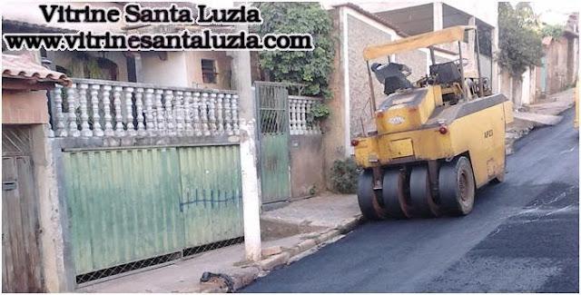 Clésio Andrade cobra asfalto para Santa Luzia-MG