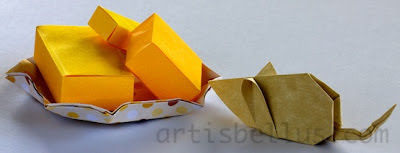 Origami Animals: Mouse