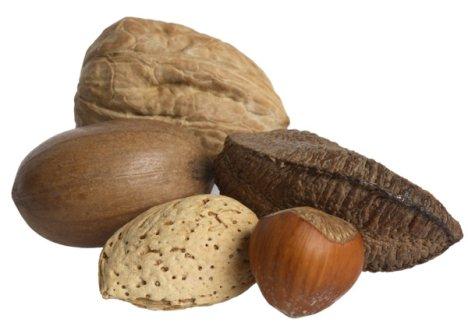 olika nötter namn