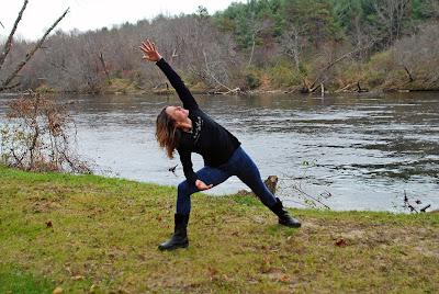 fleece+yoga+leggings - Snowflake Fleece Leggings: Outdoor Yoga