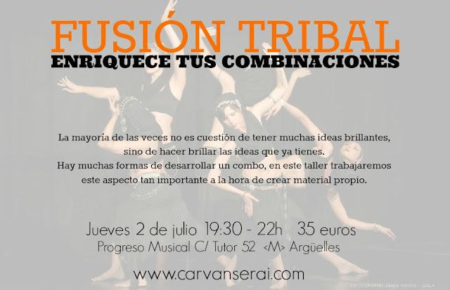intensivos de danza fusion tribal en madrid con alicia lopez