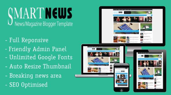 Smart News Responsive - Template Keren untuk Blog Majalah/Berita