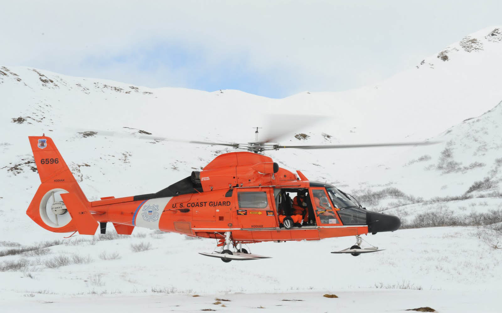 HH 65 Dolphin US Coast Guard Helicopter Wallpapers