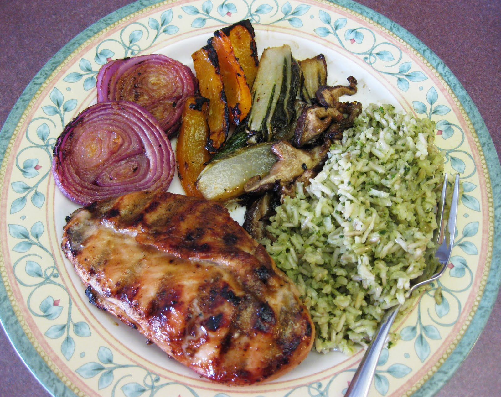 Bloatal Recall: Grilled Asian Chicken with Vegetables