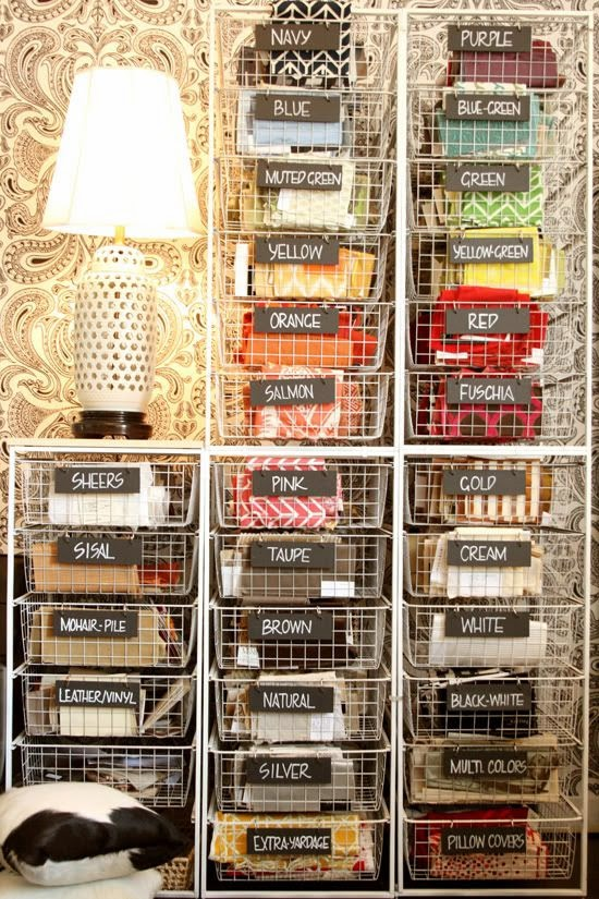 Fabriclovers blog different ways to store and organize for Fabric storage