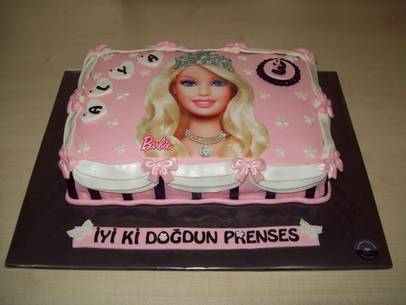 Barbie Bebekli Pastalar