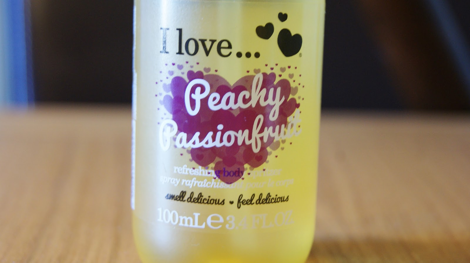 I Love Peachy Passionfruit Body Spritzer