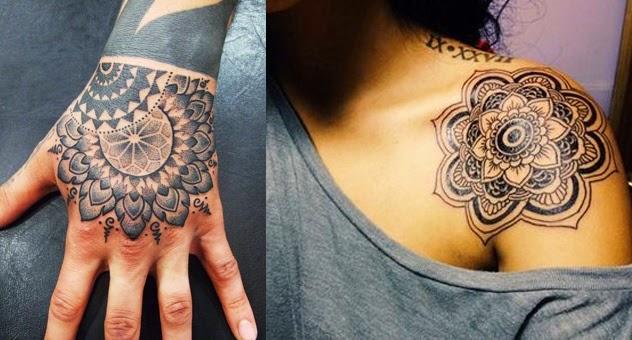 Татуировки мантры Сак Янт Ом Мани Падме Хум их  - буддийские татуировки и их значение