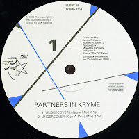 Partners In Kryme – Undercover (VLS) (1990)
