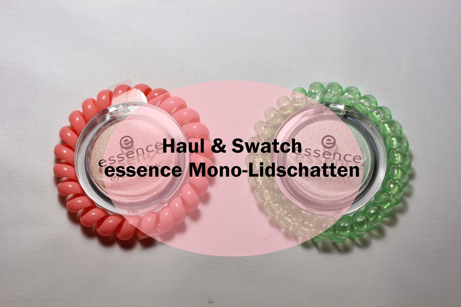 Haul & Swatch essence Mono-Lidschatten