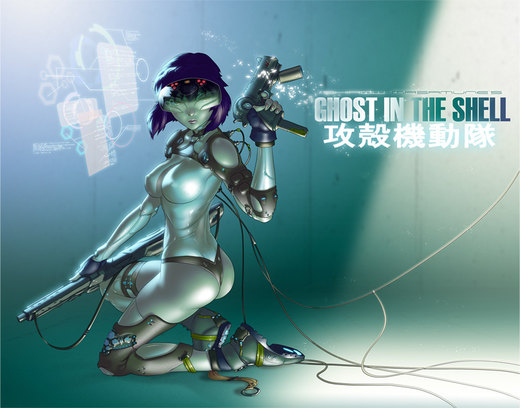 GHOST IN THE SHELL por chesterocampo