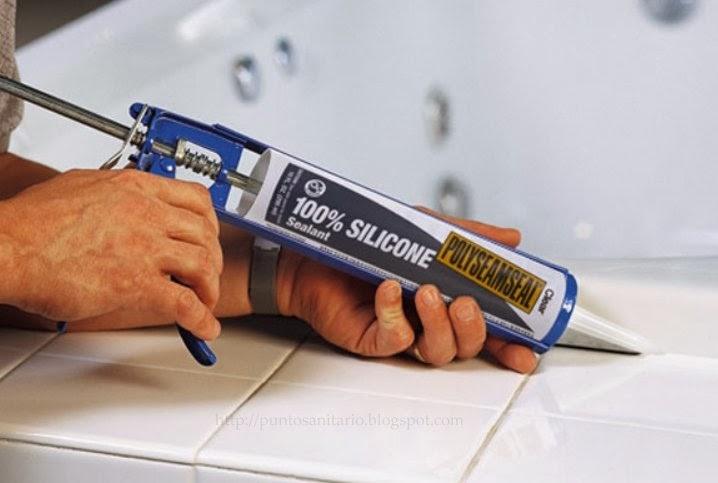 Punto sanitario juntas de silicona limpieza y aplicacion - Silicona para juntas ...