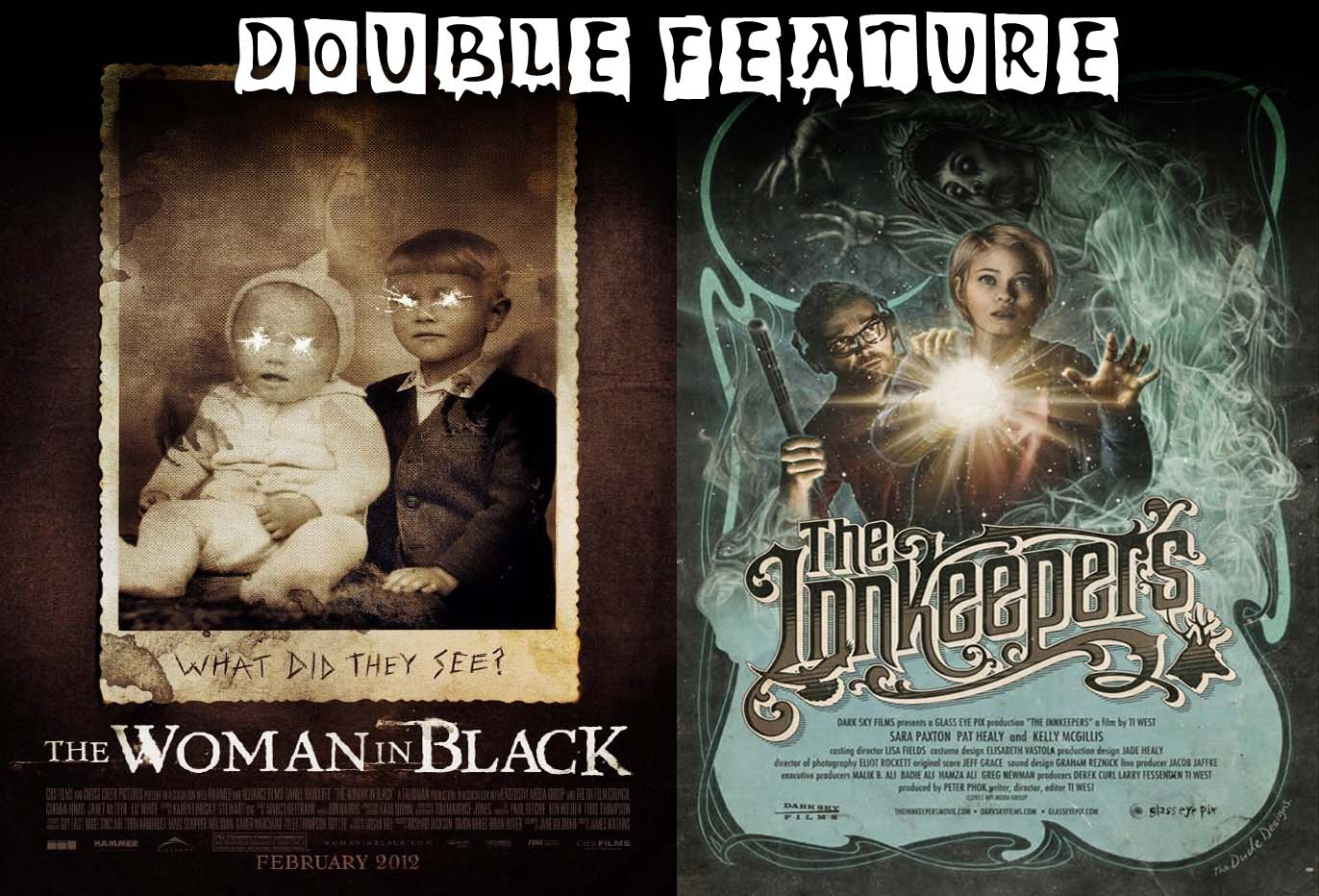 the horror effect: double ghost feature: the woman in black and the