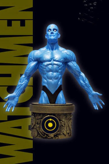 Busto Dr. Manhattan de Watchmen