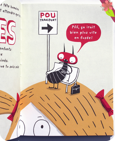 Le Pou d'Elise Gravel - éditions Le Pommier