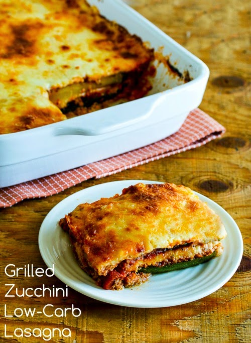 Grilled Zucchini Low-Carb Lasagna (with Italian Sausage, Tomato, and ...